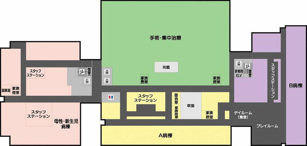 3階(病棟)